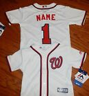 Washington Nationals Cool Base MLB Majestic Infant Replica Jersey add name numbr