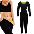Fitness Exercise Weight Loss Shapewear Sauna Suit Body Shaper Tummy Fat Burner