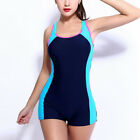 Plus Size Women Competition Racing Training Bathing Racer Swimwear Swimsuit S-3X