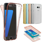 Shockproof 360° Full Protective Clear Gel Soft Case TPU Cover For Samsung Galaxy