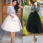 Mini Womens Tulle Celebrity Skirts Adult Tutu Ball Gown Wedding Prom Dress Hot