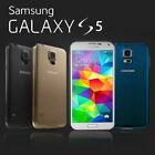 Factory Unlocked SAMSUNG Galaxy S5 G900F Black White Blue 16GB Android Phone