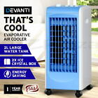 Devanti Evaporative Air Cooler Portable Conditioner Fan Humidifier Ice Crystal