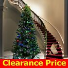 3/4/5/6/7ft Tall Fiber Optic Christmas Green Tree W/Stand...