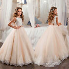 expensive first communion dresses - NEW Vintage Flower Girl Dresses For Weddings Lace Bow Kids First Communion Gown