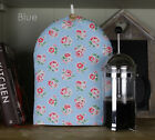 Cath Kidston Handmade Fabric Cafetiere Coffee Ashdown Vintage Rose Blue fabric