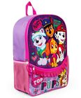 """PAW PATROL SKYE & EVEREST 16"""" Full-Size Backpack w/ Optional Insulated Lunch Box"""