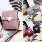 Women Students Snap Closure Shoulder Bags Synthetic Leather Messenger N4U8