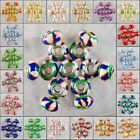 M131-154 14x10 Wholesale Polymer Clay 925 Silver Bead Finding