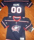 Columbus Blue Jackets Kids Size 4/7  NHL Hockey Jersey add  any name $41.24 USD on eBay