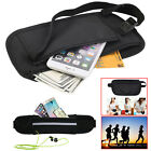 Travel Bum Bag Money Wallet Waist Belt Running Jogging  Cash Keys Mobile Pouch