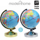 FAULTY World Globe 4-Way (Ornament Prop) Ex-Light Display Lamp in Chrome