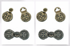 Decorative Norwegian Clasp Fasteners (CX38-M)