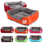 Dog Bed For Large/Medium/Small Dogs Blanket Cushion Soft Kennels Waterproof Pad