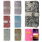 For ZTE Blade X Z965 Premium Bling Diamond Wallet Case Flip Pouch Phone Cover