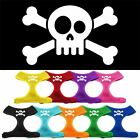 Skull Crossbones Screen Print Soft Mesh Dog Pet Puppy Harness