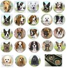 """80 Popular Breeds CAR COASTER Dog Puppy E & S Pets Gift Fit Auto Cup Holder 2.5"""""""