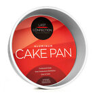 Professional Round Aluminum Cake Pans - Baking Tins (Assorted Sizes)
