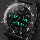 INFANTRY Mens LED Digital Quartz Wrist Watch Military Sport Tactical Cool Black image