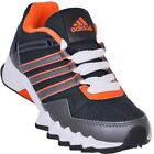Adidas Adifaito Boys Kids Lace Up Mesh Sports Fitness Running Trainers Shoes