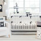 My Baby Sam Little Black Bear Nursery Crib Bedding Set CHOOSE 3 4 5 6 Piece Set