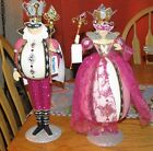 PIER 1 IMPORTS VALENTINES DAY PINK ROYAL KING OR QUEEN OF DIAMONDS