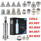 2 in 1 TANK KIT For Cloupor Cloutank M4- 10x Repalcement coil head M4/M3 DRY/WAX