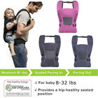 Ergonomic Baby toddler Hiking Carrier Backpack w/ Child Kid Waist Belt Washable