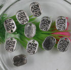 """50/200/1000pcs Retro style """"MADE WITH LOVE"""" alloy charms Pendants 11X8mm"""