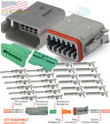 Deutsch 2,3,4,6,8,12 Pin Connector  Housing, Seals Crimp Terminals,14-16 AWG