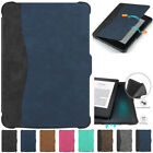 Slim Magnetic Leather Smart Case Cover Auto / Sleep For Kindle Paperwhite 1 2 3