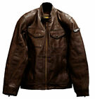 Ducati SCR Sebring Scrambler Motorcycle Motorbike Jacket 98104465 Mens Brown NEW