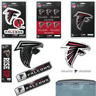 NFL Atlanta Falcons Premium Vinyl Decal / Sticker / Emblem - Pick Your Pack on eBay