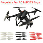 4pcs/Set Main Blades Propellers Spare Parts for RC MJX B3 Bugs Quadcopter Drone