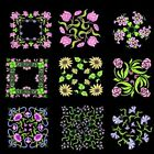 Anemone Quilt Squares 4 Machine Embroidery CD-36 Designs by Anemone Embroidery
