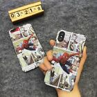 Fashion Super Hero Noctilucent Hard Phone Case Cover For iPhone 6/6S/7/8/X Plus