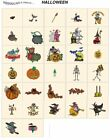 HALLOWEEN. CD or USB machine embroidery designs files holidays most formats