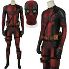 Deadpool Jumpsuit Cosplay Costume Adult Deadpool Costume Deadpool Suit Halloween