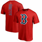 Mookie Betts Boston Red Sox Backer T-Shirt - Red on Ebay
