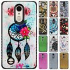 For LG Tribute Dynasty HYBRID IMPACT Hard Gel Fusion Hybrid Case + Screen Guard