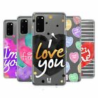 HEAD CASE DESIGNS LOVELY HEARTS SOFT GEL CASE FOR SAMSUNG PHONES 1