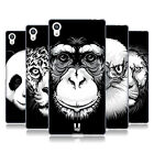HEAD CASE DESIGNS BIG FACE ILLUSTRATED SOFT GEL CASE FOR SONY PHONES 2