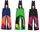 Arctiva YOUTH 2017 Snowmobile Comp Insulated Snow Pant Bibs Sizes 3/4-16