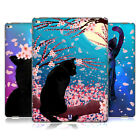 HEAD CASE DESIGNS CATS AND BLOSSOMS HARD BACK CASE FOR APPLE iPAD