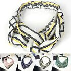 Fashion Women Girl Boho Elastic Turban Floral Twisted Knotted Hair Band Headband