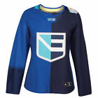 Europe Hockey adidas Womens 2016 World Cup of Hockey Premier Jersey Blue