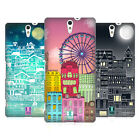 HEAD CASE DESIGNS DOODLE TOWN HARD BACK CASE FOR SONY PHONES 2