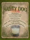 SALTY DOG  COCKTAIL RETRO BAR: CAFE:HOME BAR:METAL SIGN :3 SIZES TO CHOOSE FROM