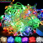 10M 100 LED Christmas Wedding Xmas Party Outdoor Decor Fairy String Light Lamp L