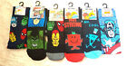 Mens Marvel Comics Mr Men Character Socks (Ideal Gift)  Uk Size 6 - 11   New
